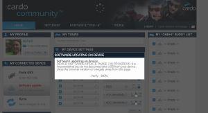 updatering av programvaran